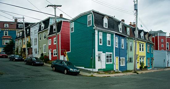 """The """"Jelly Bean"""" houses of St. John's"""