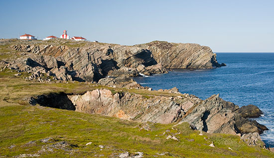 Cape Bonavista and it's candy cane stripped lighthouse.