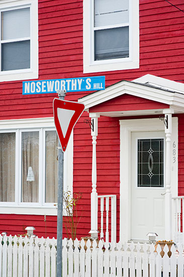 In Newfoundland, Noseworthy is almost as