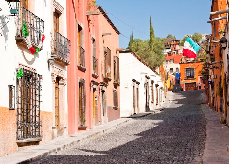 San Miguel de Allende, a UNESCO World Heritage Site and authentic taste of Mexico