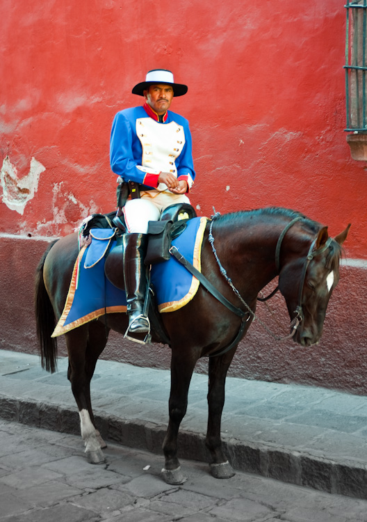 The cops of San Miguel's Centro Historico