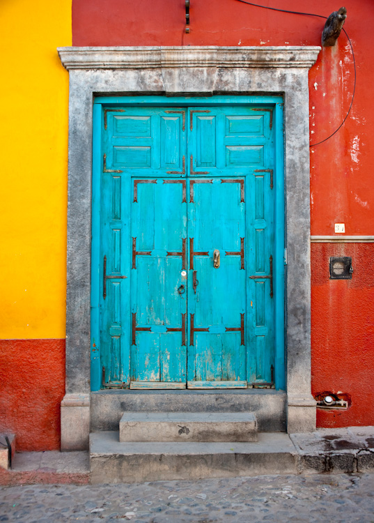 The doors of San Miguel de Allende, definitely a cliche'.