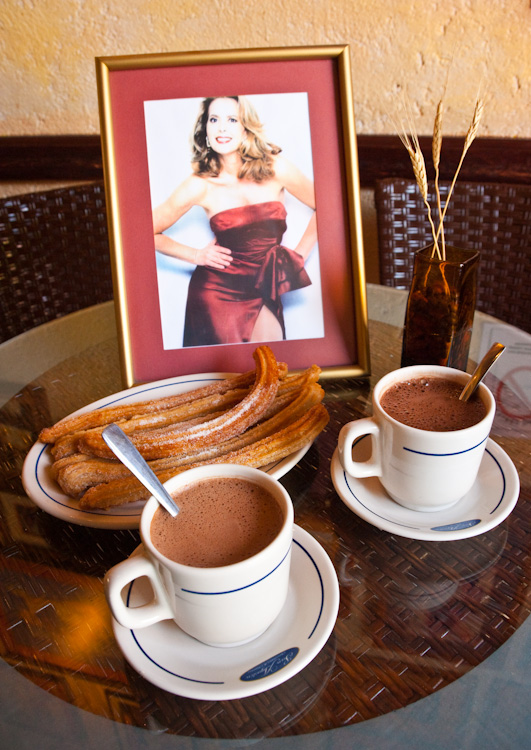 Margarita Gralia and her wonderful Churros y Chocolate