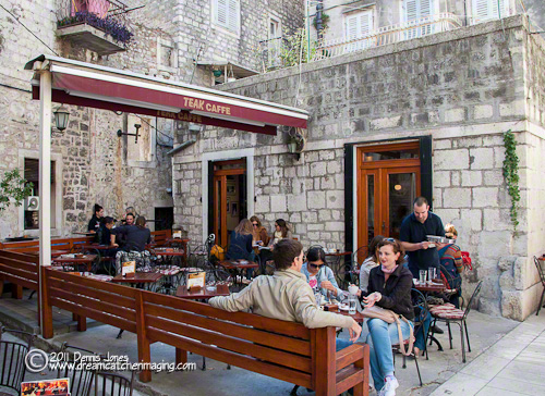 Split, Croatia Cafe