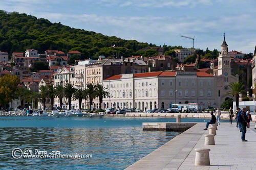 Split, Croatia Harbor