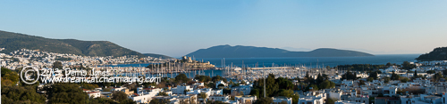 Bodrum Pano from West