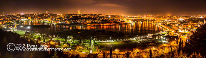 Golden Horn Night Pano