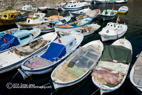 Gallipoli Harbor Boats