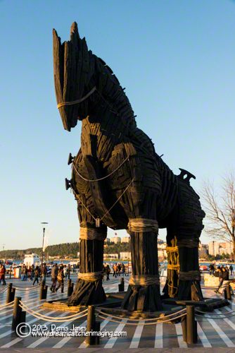 Trojan Horse Canakklale Turkey