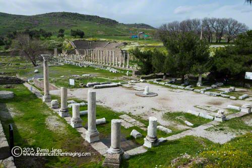 Asclepium Pergamon Bergama Turkey