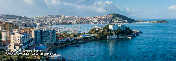 Kusadasi Panoramic View of the City