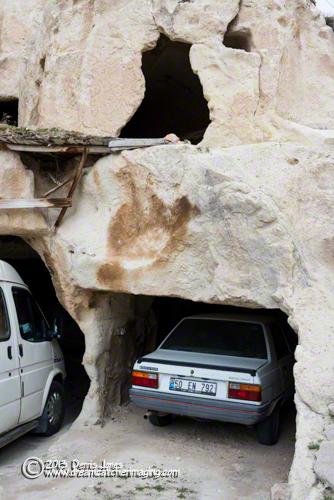 Mehmet's Cave Garage Cappodocia