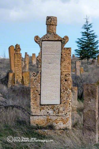 Ottoman Cemetery Tombstone Cappodocia