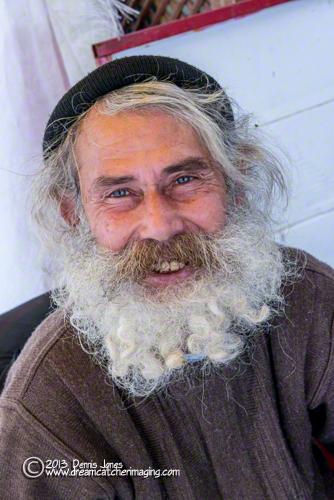 Kusadasi, Turkey bearded man