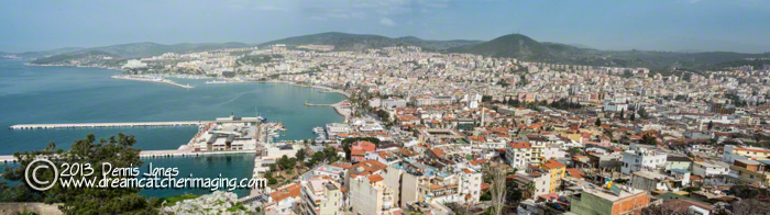 Kusadasi, Turkey Panorama